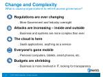 change and complexity what is causing organizations to rethink access governance