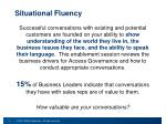 situational fluency