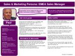 sales marketing persona emea sales manager
