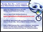 ready set go let s launch your real estate career today