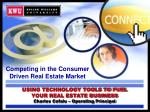 using technology tools to fuel your real estate business charles cefalu operating principal