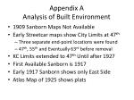 appendix a analysis of built environment