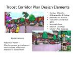 troost corridor plan design elements