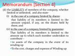 memorandum section 41