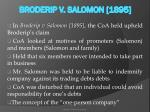 broderip v salomon 1895