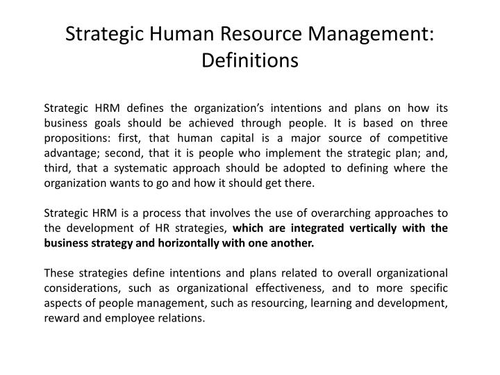 how to formulate and implement human resource strategies Strategic human resource management's relationship to business strategy strategic human resource management (shrm) is an approach to the practice of human resources that addresses seeing these factors side by side clarifies what to address to formulate a powerful shrm plan.