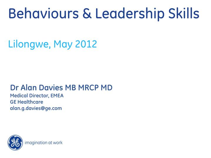 behaviours leadership skills n.
