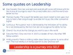 some quotes on leadership