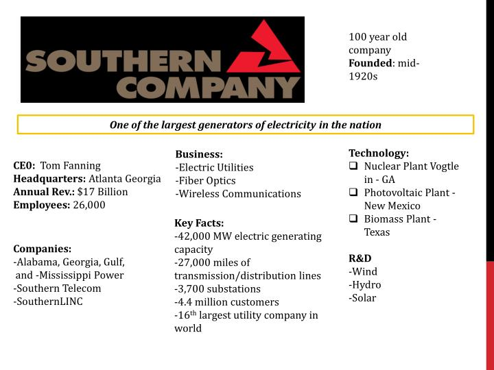 100 year old company