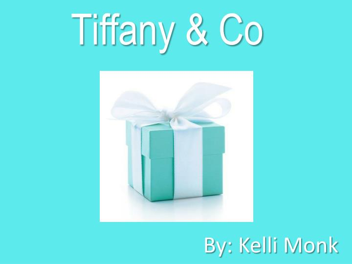 tiffany co n.