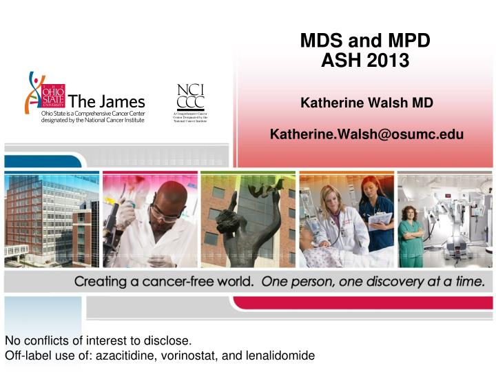 mds and mpd ash 2013 n.