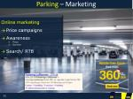 parking marketing