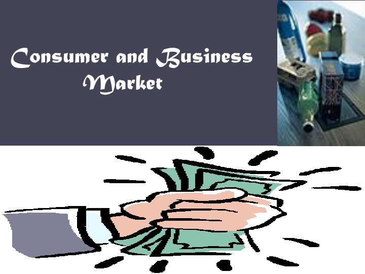 consumer and business market n.