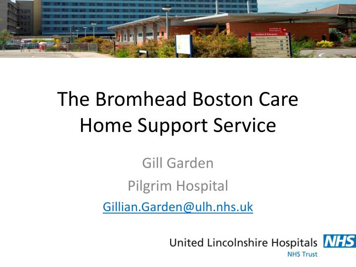 the bromhead boston care home support service n.