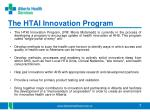 the htai innovation program