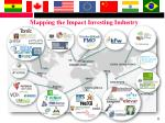 mapping the impact investing industry