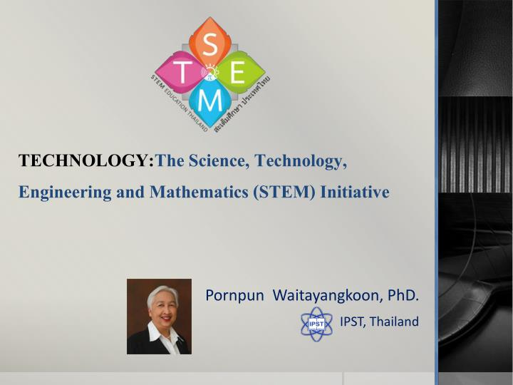 technology the science technology engineering and mathematics stem initiative n.