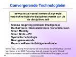 convergerende technologie n
