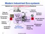 modern industrieel eco systeem