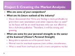 project 5 creating the market analysis3