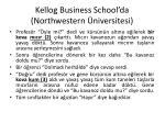 kellog business school da northwestern niversitesi1