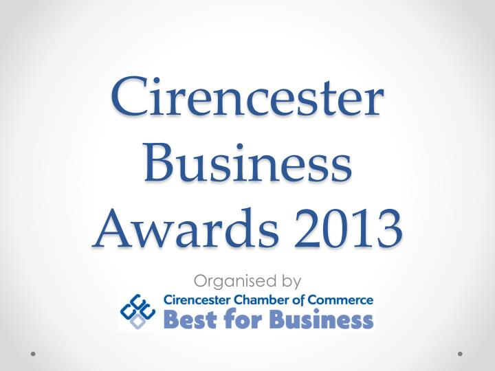 cirencester business awards 2013 n.