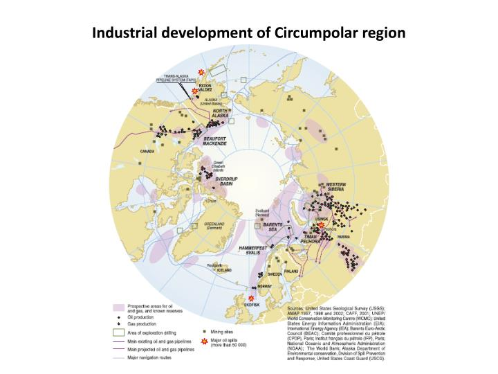 Industrial development of Circumpolar region