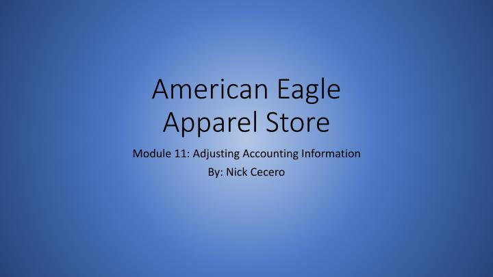 american eagle apparel store n.