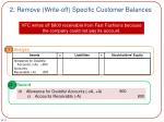 2 remove write off specific customer balances