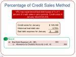 percentage of credit sales method1