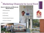 marketing channels for local food1