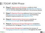 togaf adm phase2
