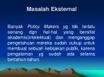 masalah eksternal1