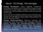 dasar strategi persaingan2