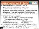 appscale use research potential