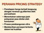 peranan pricing strategy