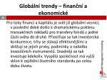 glob ln trendy finan n a ekonomick