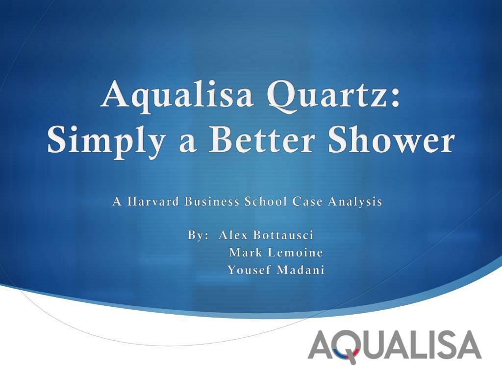 aqualisa quartz case