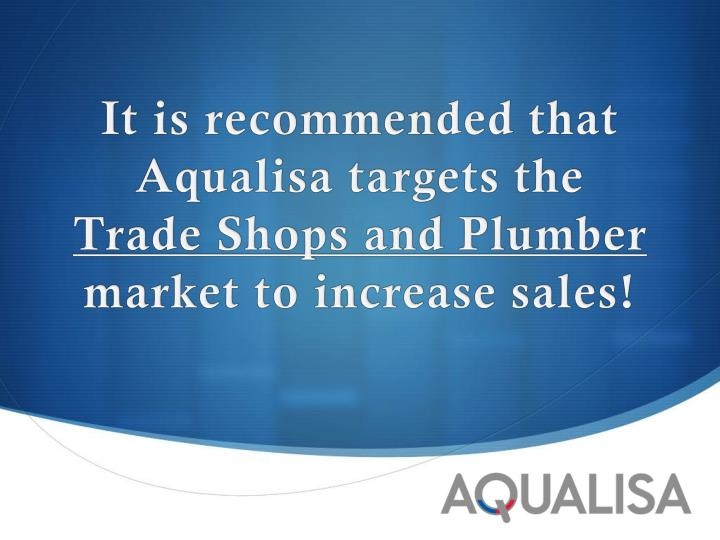 aqualisa quartz simply a better show Aqualisa quartz: simply a better shower  this case is accompanied by a video  short that can be shown in class or included in a digital.