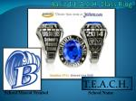 basic t e a c h class ring