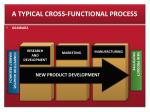a typical cross functional process