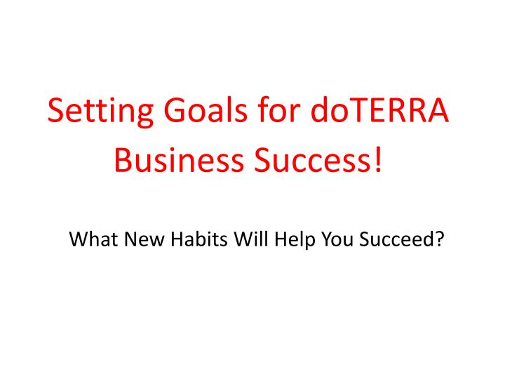 what new habits will help you succeed n.