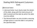 dealing with delinquent customers cont1