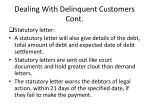 dealing with delinquent customers cont2