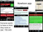 kowloon app