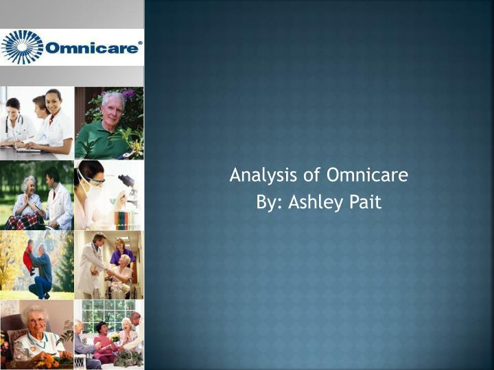 analysis of omnicare by ashley pait n.