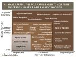 4 what capabilities do systems need to add to be successful under rs rb payment models