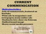 current communication