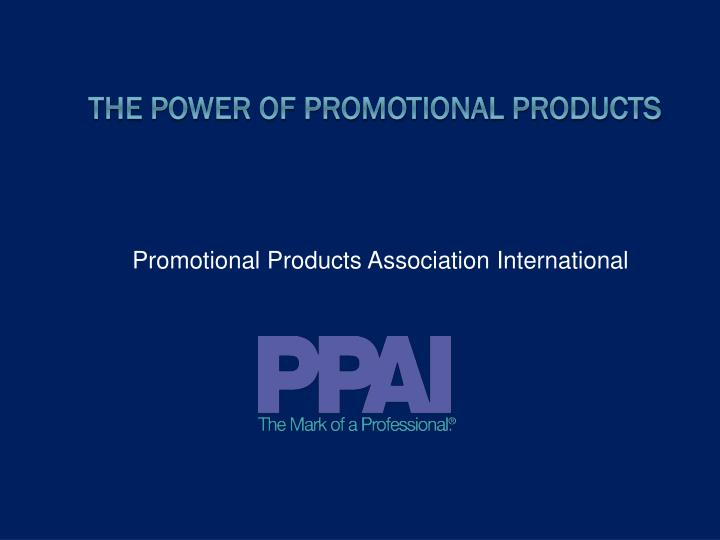 promotional products association international n.