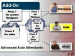 advanced auto attendants